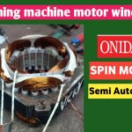 Washing Machine Spinner Motor Rewinding Aluminum Wire by ElectricalHomes.com