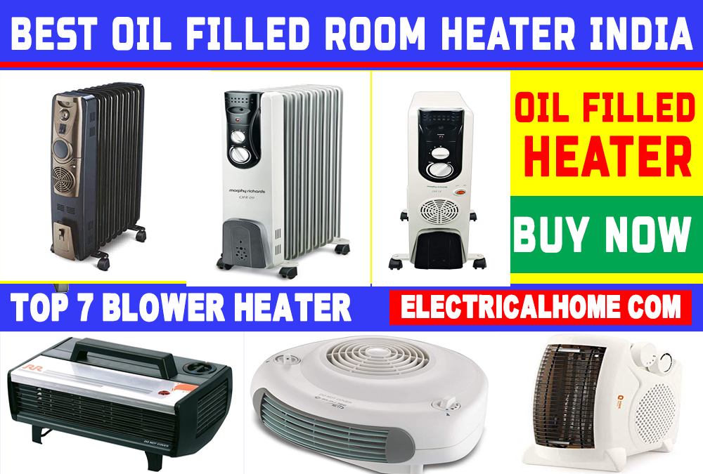 Top 7 Best Oil Filled Room Heater In India | Top 10 Best Room Heater.