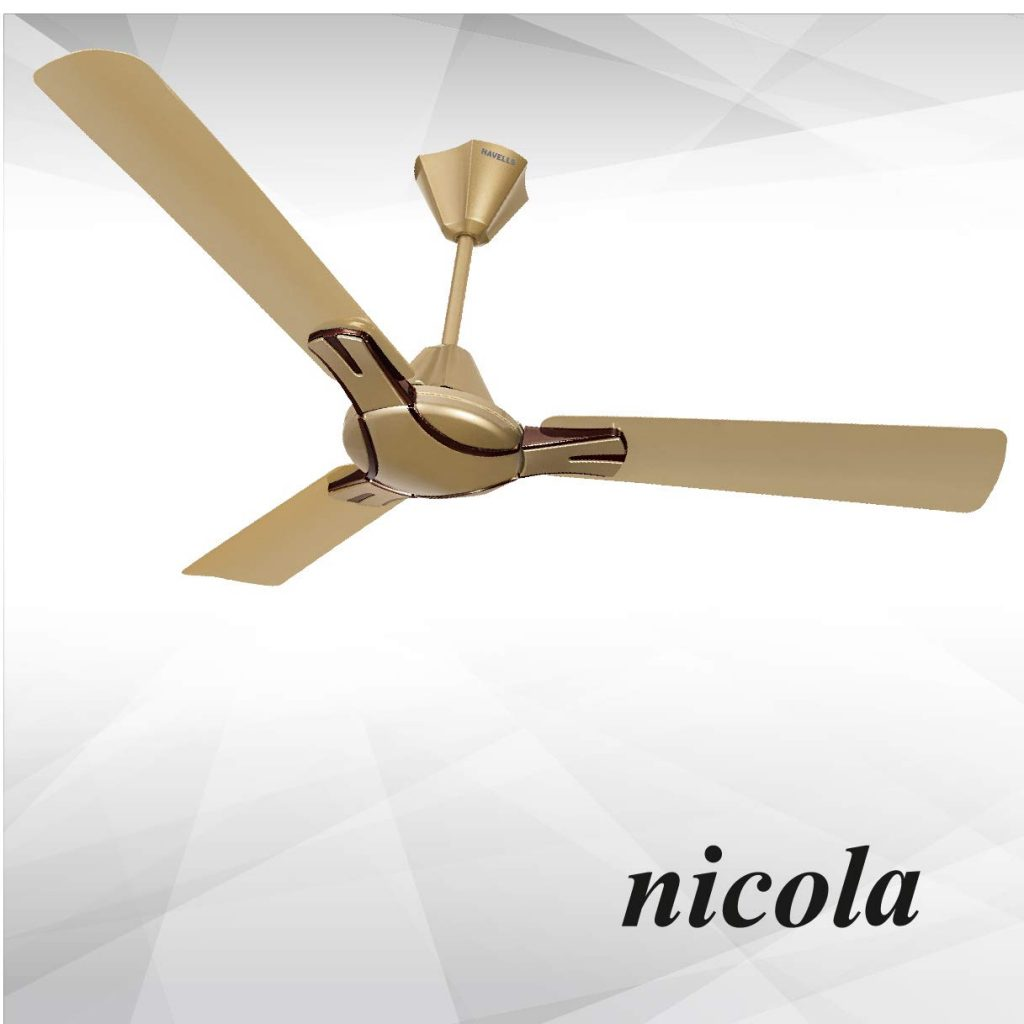 9 Best Ceiling Fans In India 2020.Top Nine Ceiling Fans In India With Price.Havells nikola ceiling fan