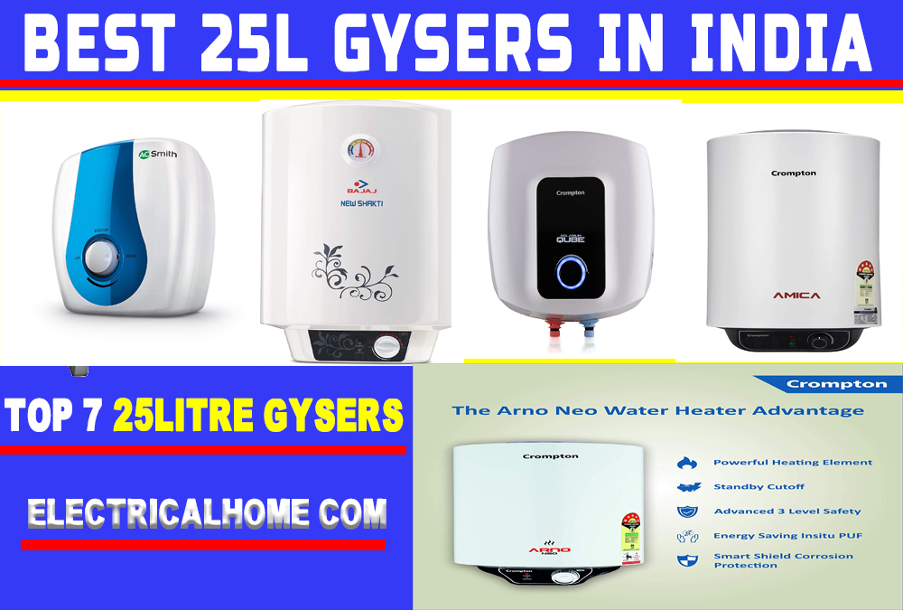 Best Water Geyser In India 2020   Top-7 Best 25 Litre Geyser In India.