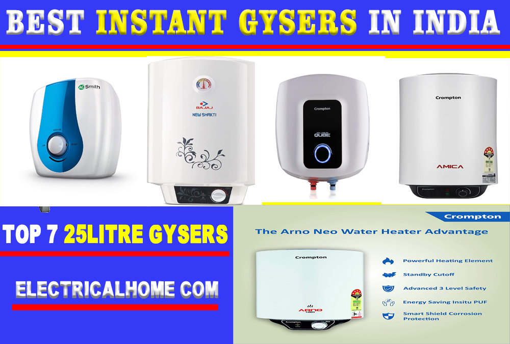 Top 7 Best Instant Geysers In India 2020 | Instant Water Geysers Buy Online.