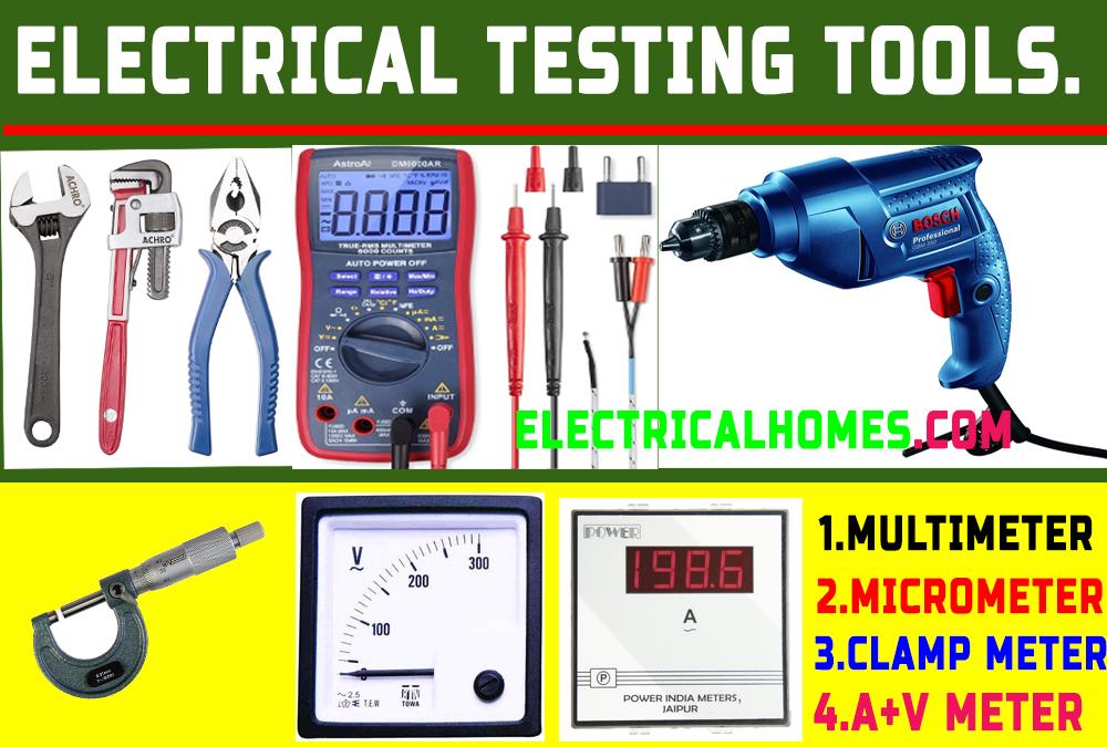 Electrical Testing Tools | Motor Winding Tools.Electrical Testing Instruments.Bu Electricalhomes.com