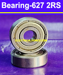 Buy Hch 627 2RS Double Ball Bearings Online At Best Price ( HCH ) 7x22x7 at very Low Price From Electricalhomes.com
