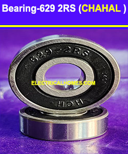 Buy 629 2RS Double Ball Bearings ( Chahal V2 ) 8x22x7 at very Low Price From Electricalhomes.com