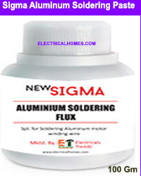 Sigma Aluminium Soldering Paste 2021 At 210 INR By Electricalhomes.com