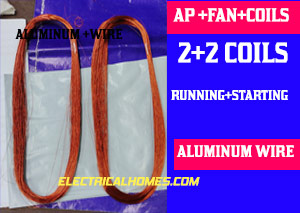 ap fan motor readymade coils buy online at 110 rs from electrical homes.com
