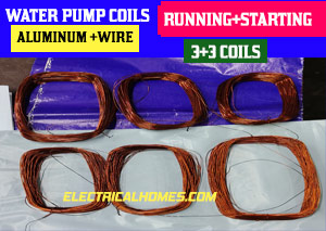 Buy 0.5 Hp Water Pump Motor Coils Online.